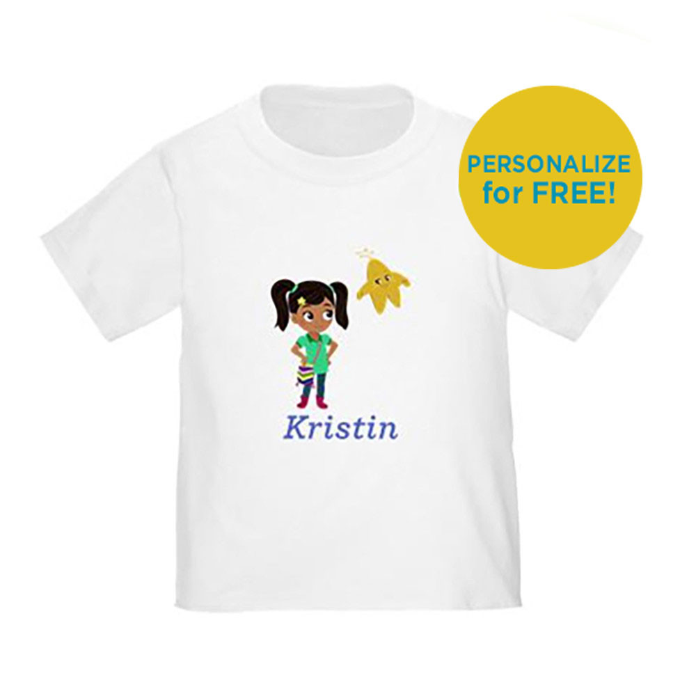 Nina And Star Personalized Toddler T-Shirt