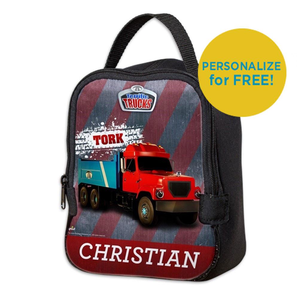 Tork Terrific Trucks Neoprene Lunch Bag