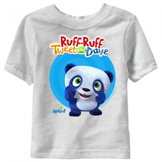 Ruff-Ruff, Tweet and Dave - Dave Short Sleeve T-Shirt
