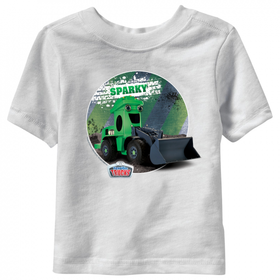Sparky Terrific Trucks Toddler T-Shirt