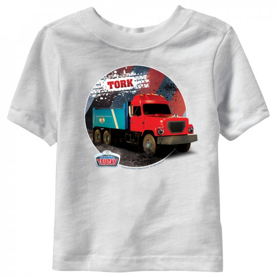 Tork Terrific Trucks Toddler T-Shirt