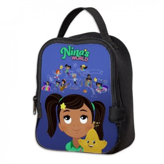 Nina's World Neoprene Lunch Bag
