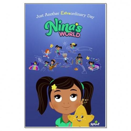 Nina's World Large Poster
