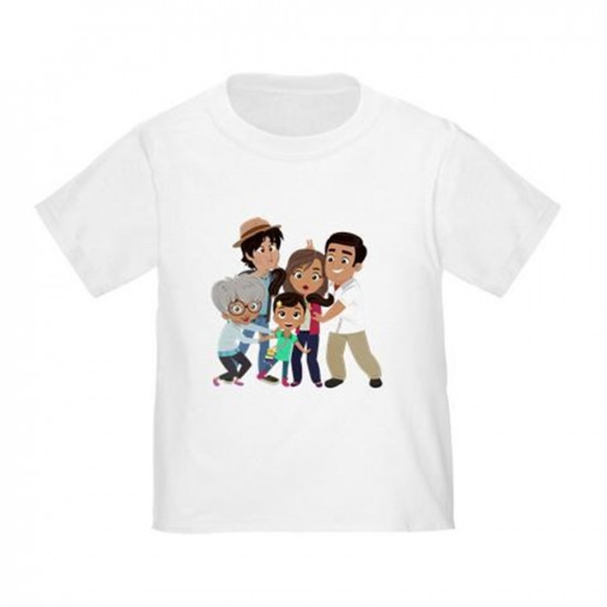 Nina's World Silly Family Toddler T-Shirt