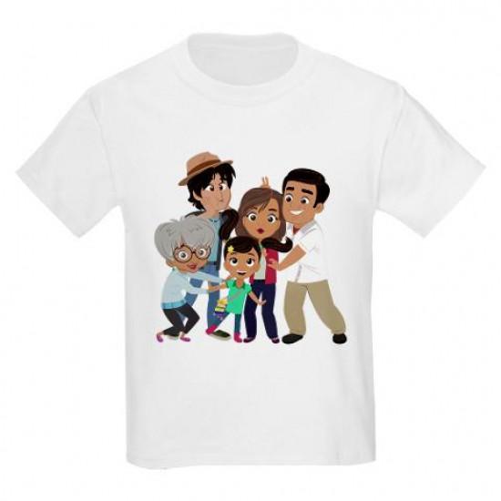 Nina's World Silly Family Kids Light T-Shirt