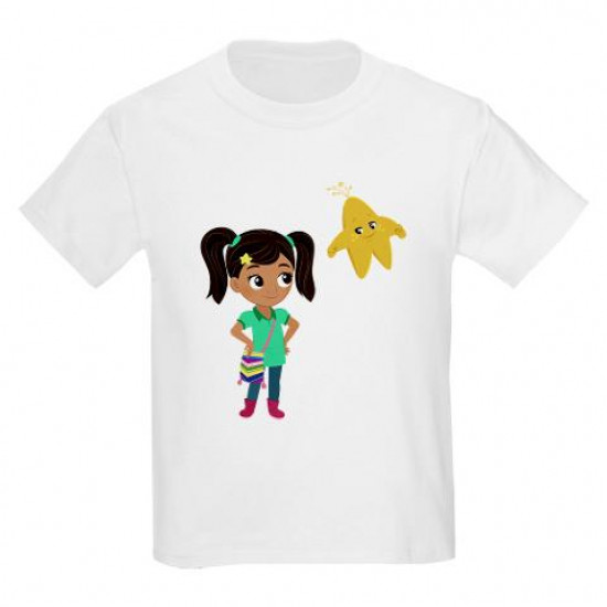 Nina And Star Kids Light T-Shirt