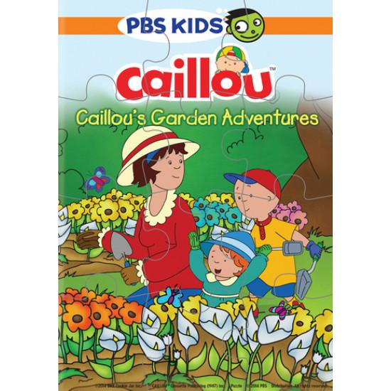 Caillou's Garden Adventures DVD