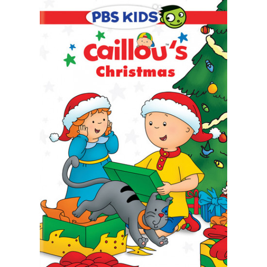 Caillou's Christmas DVD