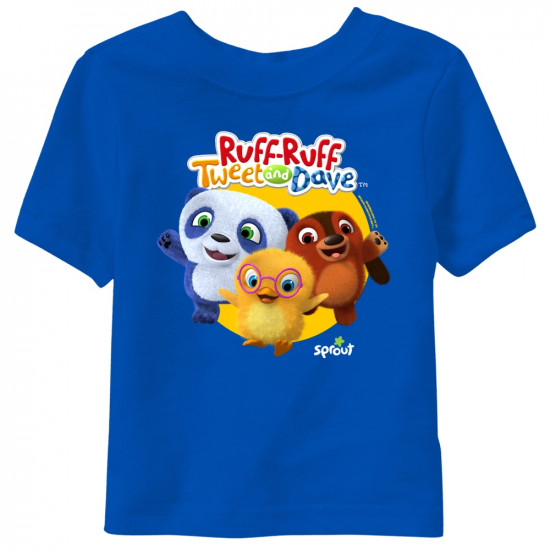 Ruff-Ruff, Tweet and Dave Short Sleeve Youth T-Shirt