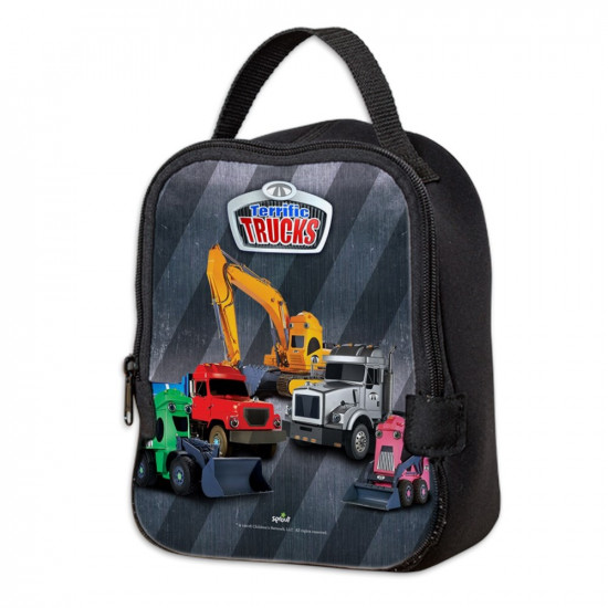 Terrific Trucks Neoprene Lunch Bag