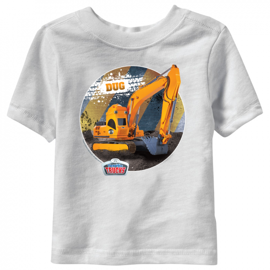 Dug Terrific Trucks Toddler T-Shirt