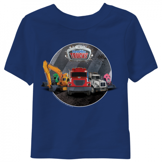 Terrific Trucks Group Toddler T-Shirt