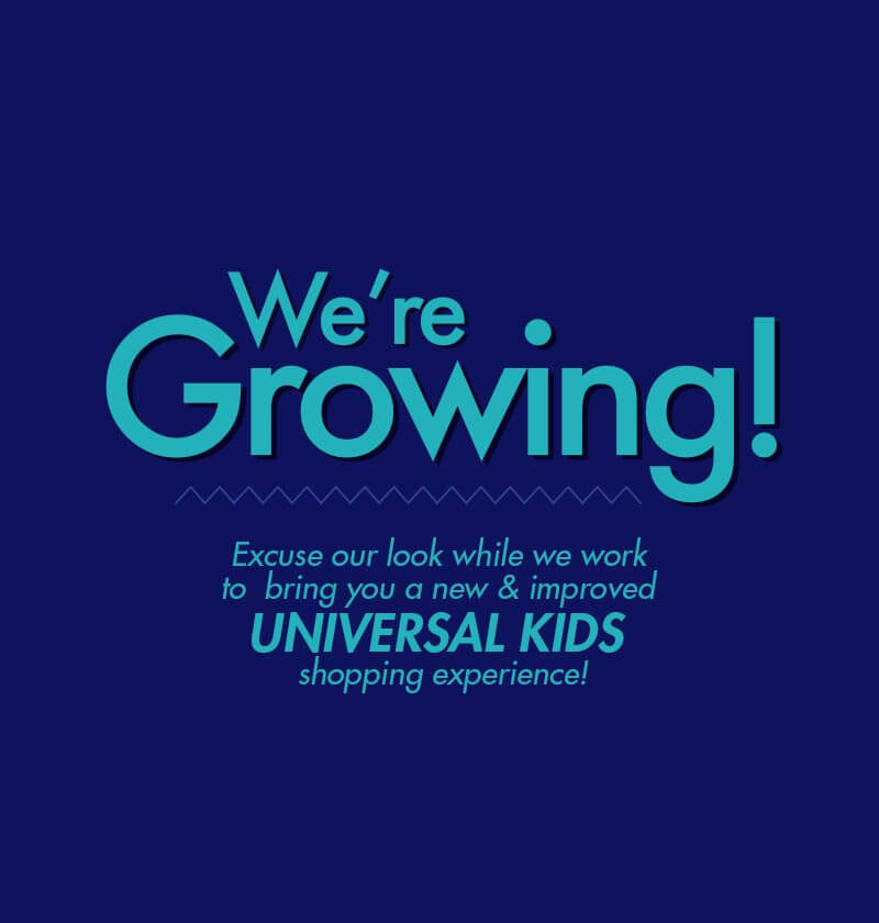 Shop Universal Kids Coming Soon